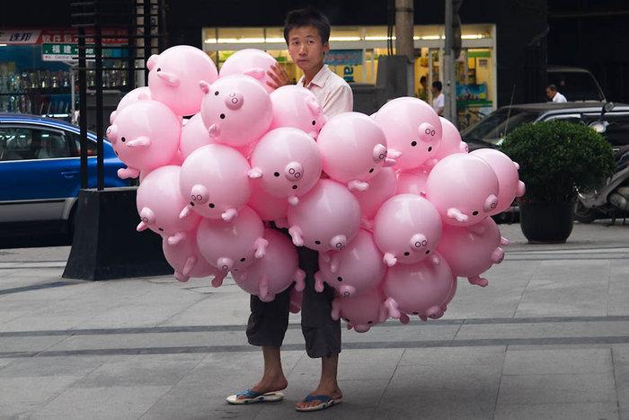 david s photoblog pig balloons july 2007 shanghai david s